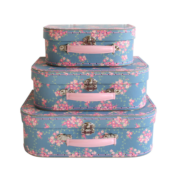 suitcase set 3pcs (wildflower)