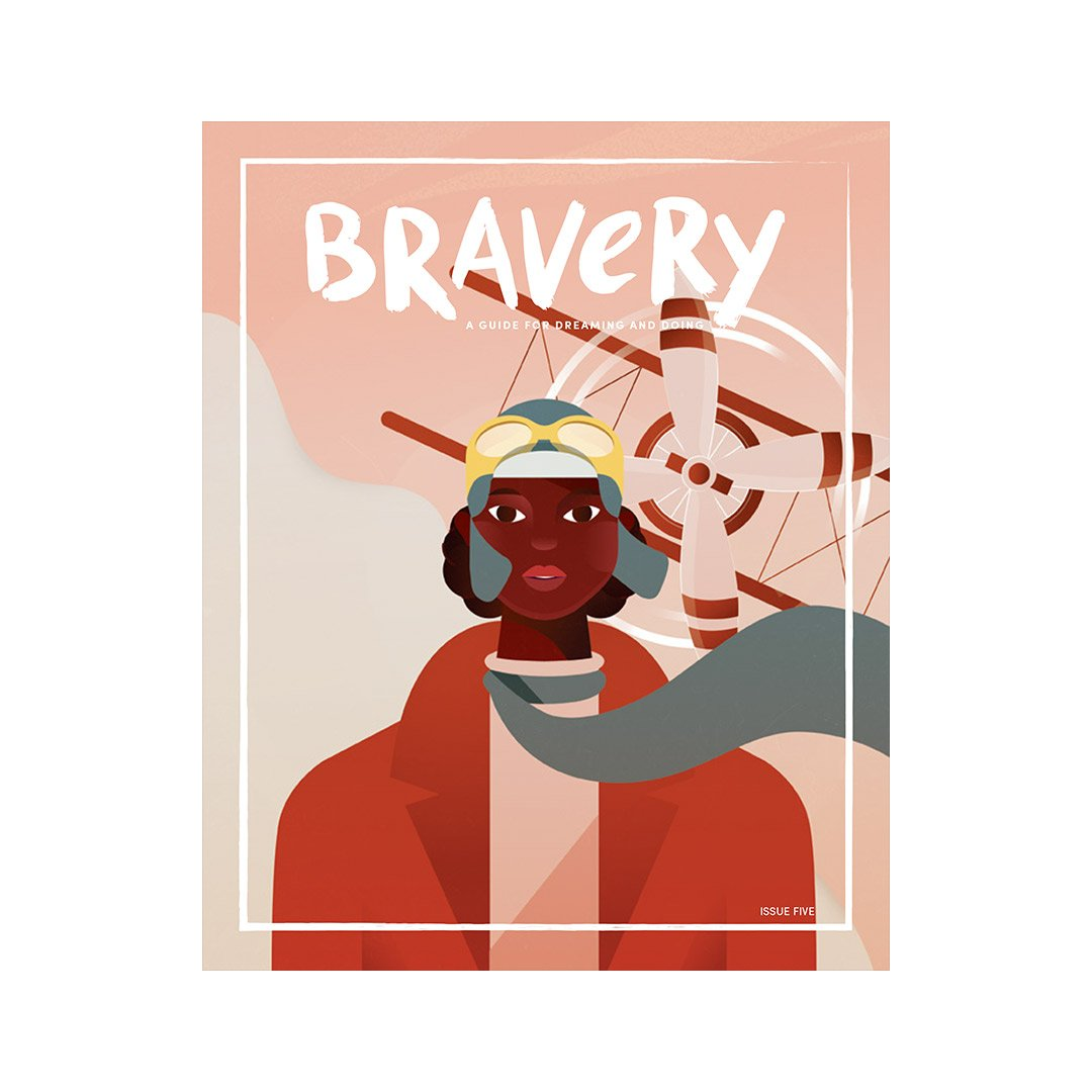 Bravery Magazine issue 5 / Bessie Coleman and Amelia Earhart