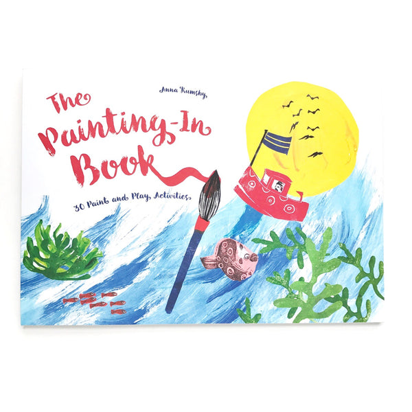 the painting-in book