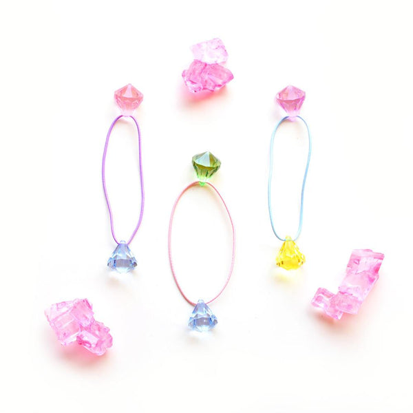 candy gem hair tie