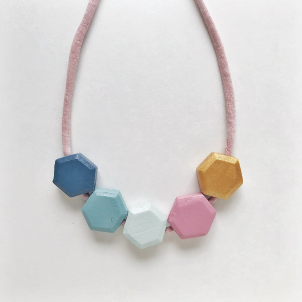 miranda honeycomb necklace