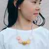 florence honeycomb necklace