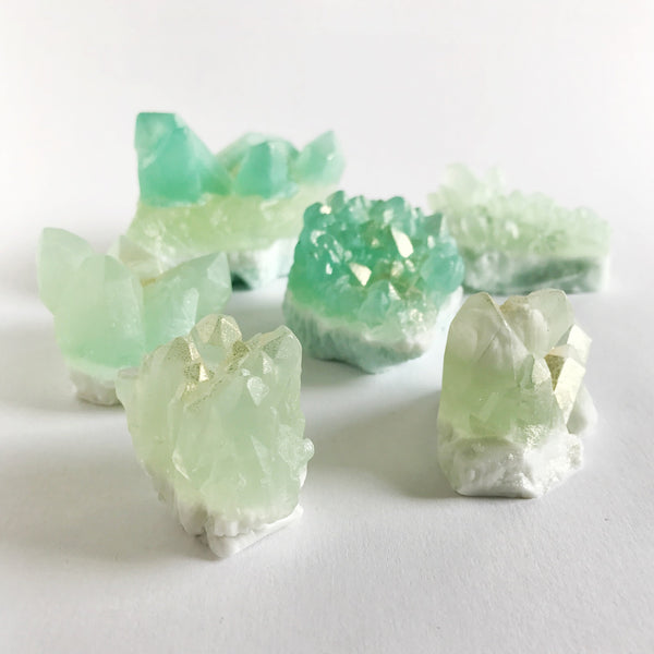 crystal soap - aquamarine