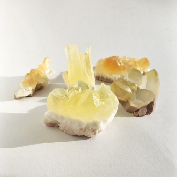 crystal soap - citrine
