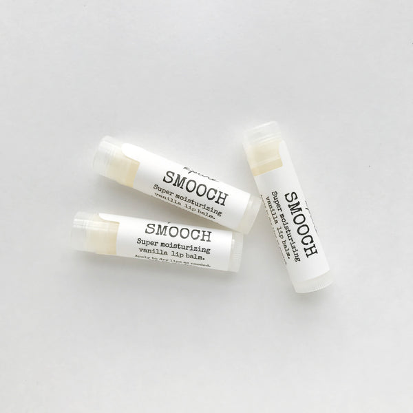 smooch lip balm (vanilla)