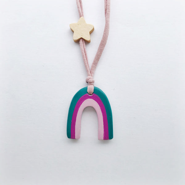 eiko rainbow necklace