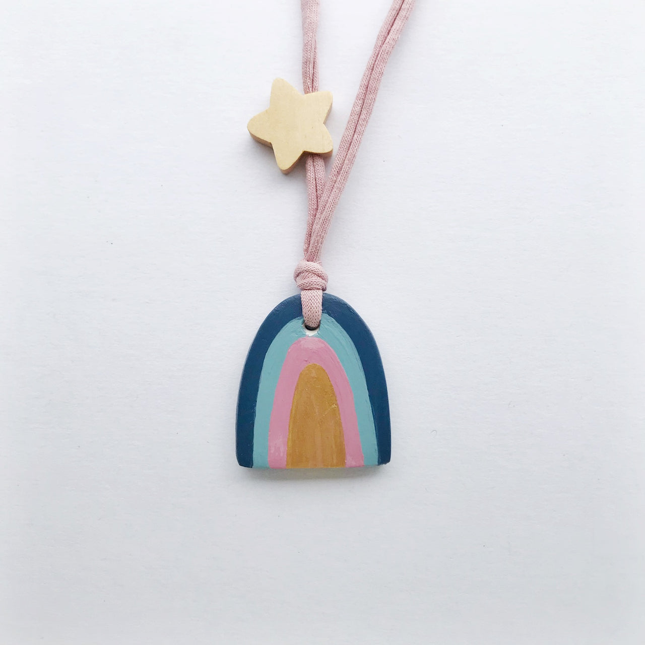luna rainbow necklace