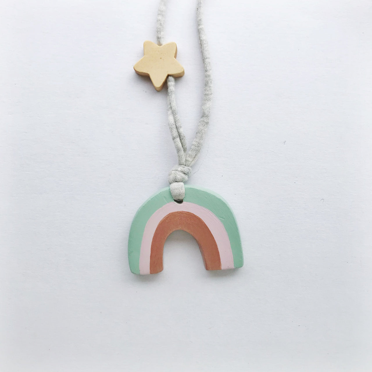 willow rainbow necklace