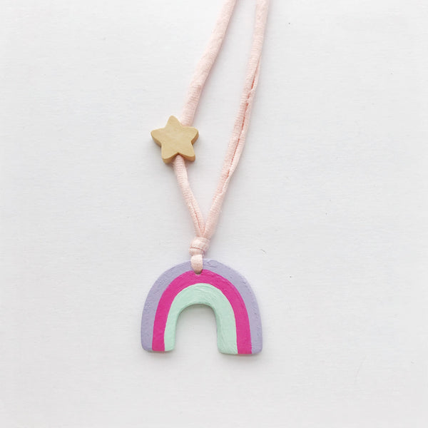 emily rainbow necklace