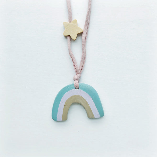 hannah rainbow necklace
