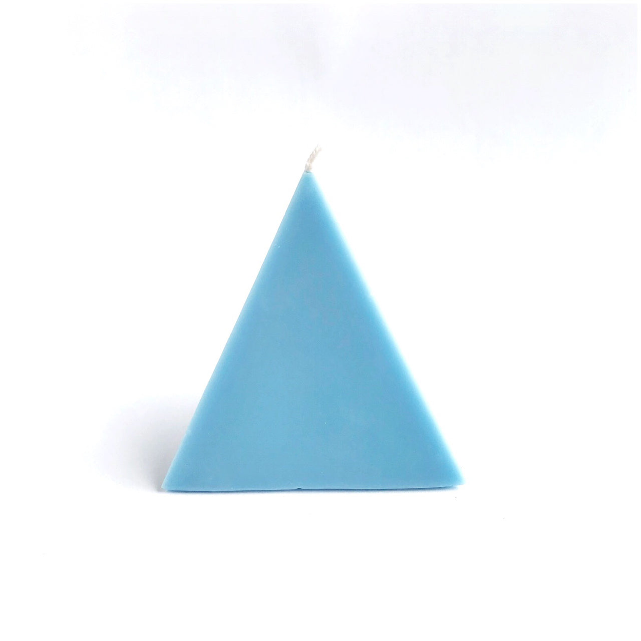 pyramid treasure candle (blue)