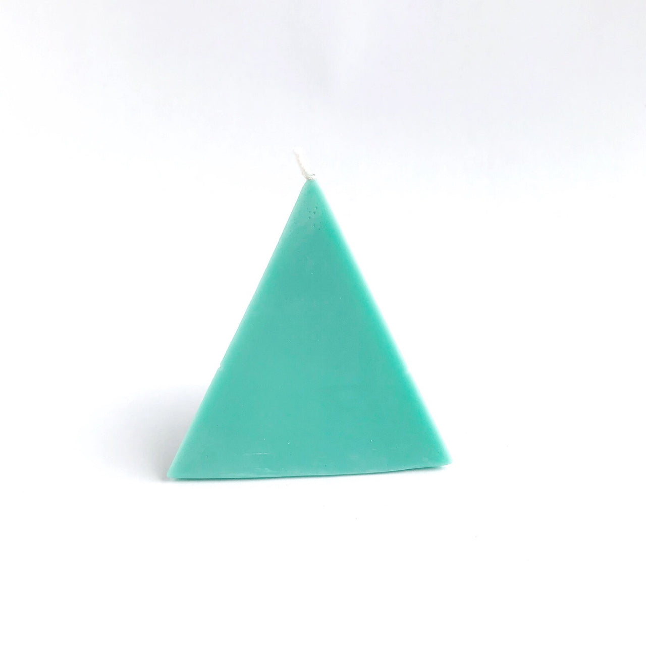 pyramid treasure candle (green)