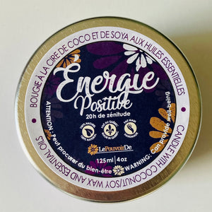 Bougie d'intention Énergie Positive