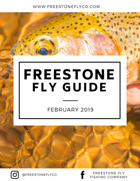 Freestone Fly Guide - February 2019