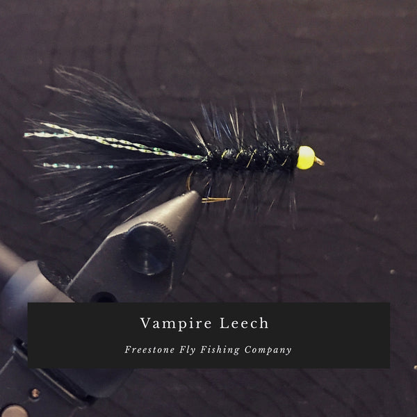 Freestone Fly Tying Series - Vampire Leech