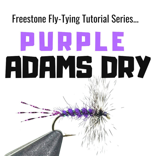 Purple Adams Fly-Tying Tutorial
