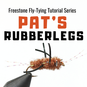 Pat's Rubberleg Fly-Tying Tutorial