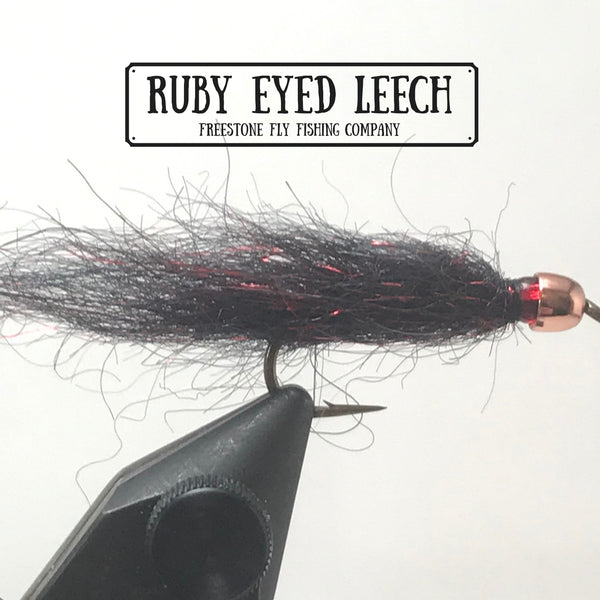 Freestone Fly Tying Series - Ruby Eyed Leech