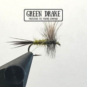 Freestone Fly Tying Series - Green Drake