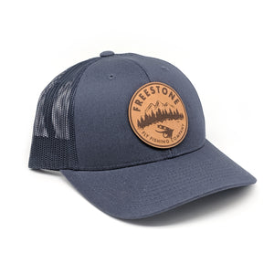 Freestone Leather Patch Trucker