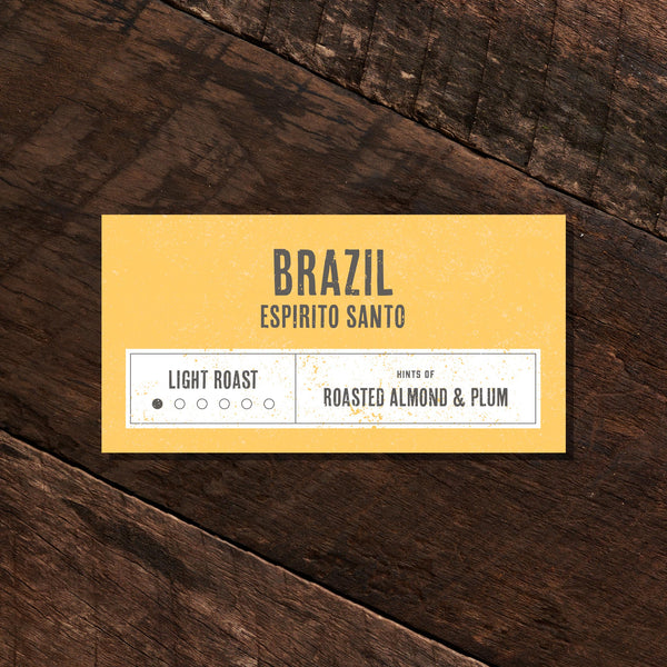 Brazil Espírito Santo – Light Roast