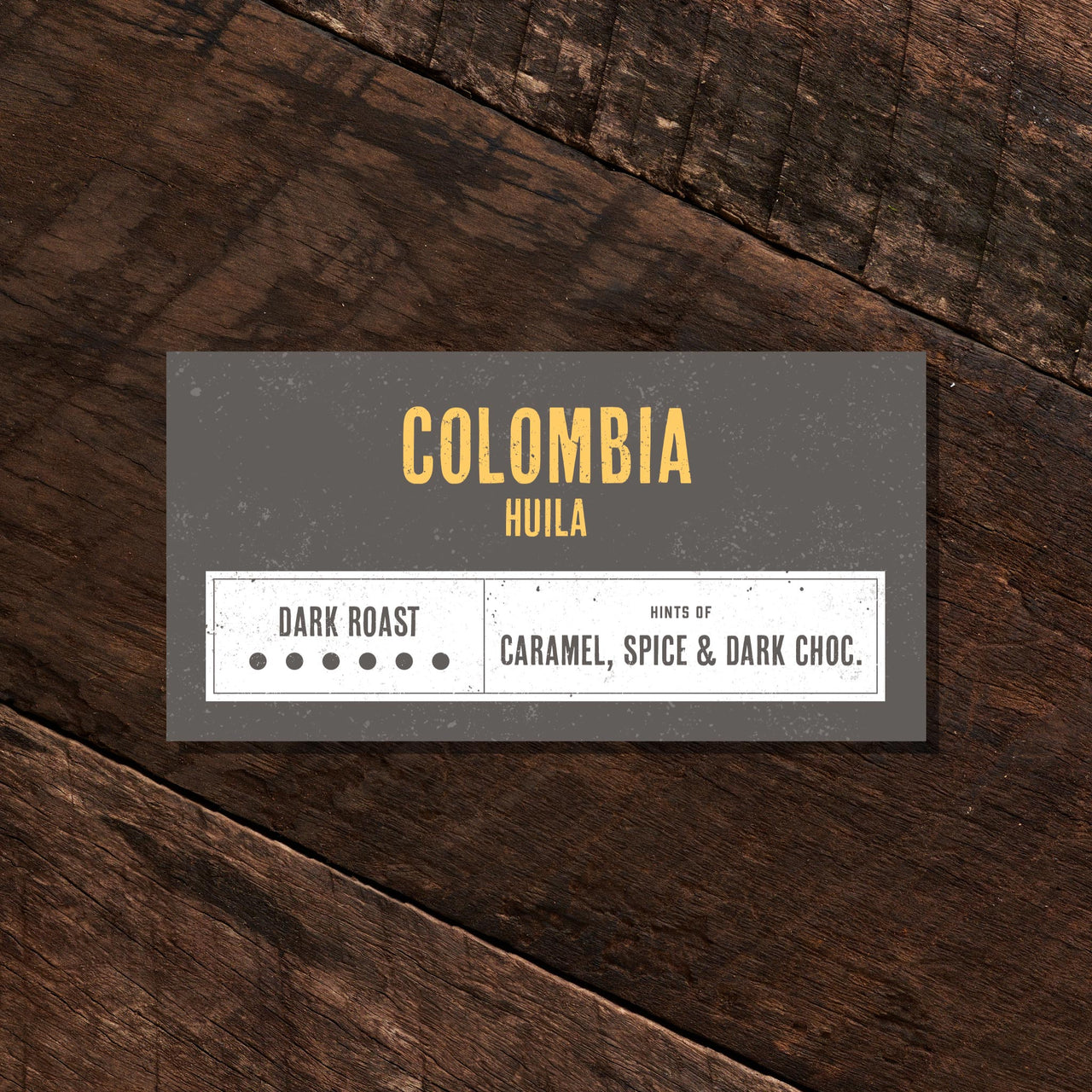 Colombia Huila – Dark Roast