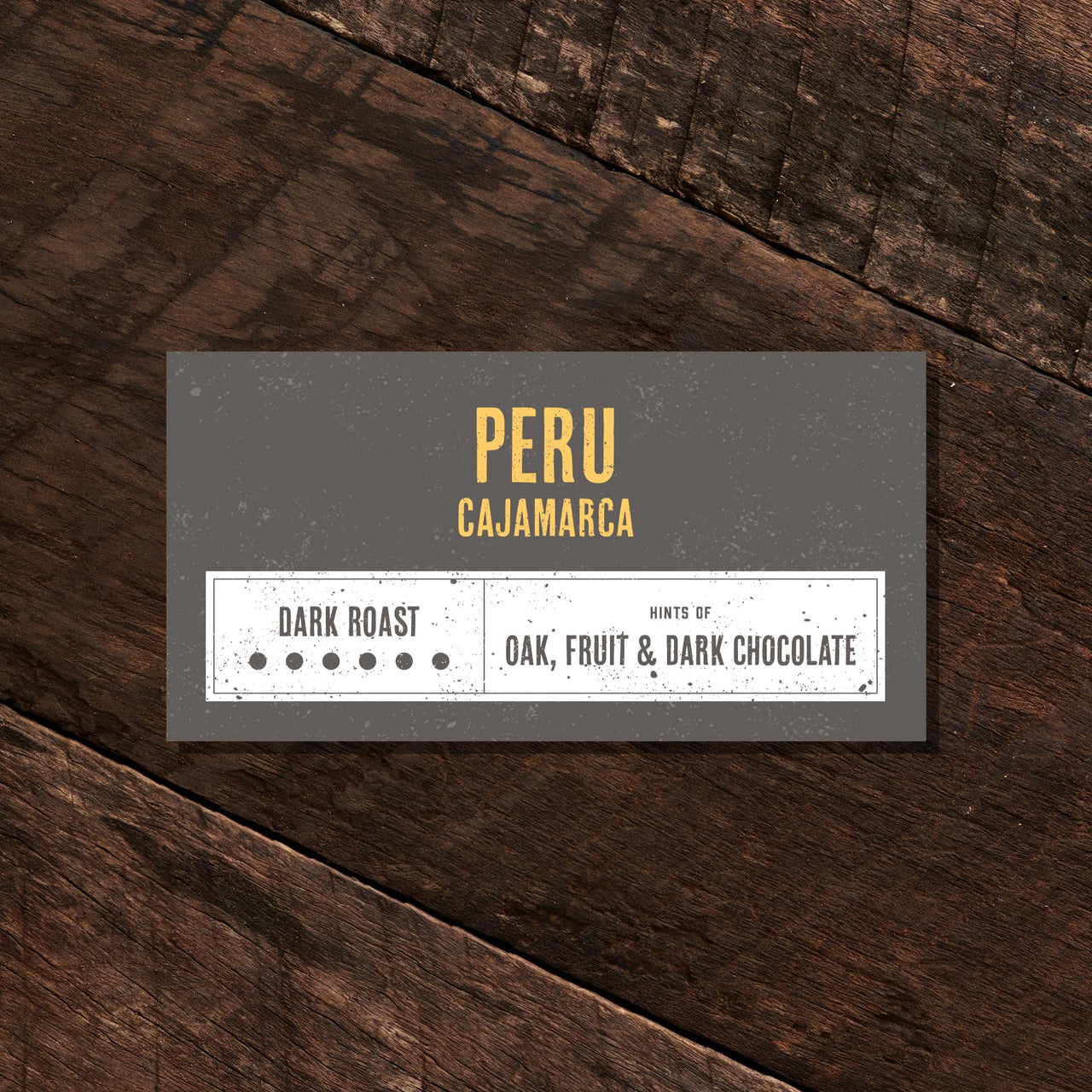 Peru Cajamarca - Dark Roast