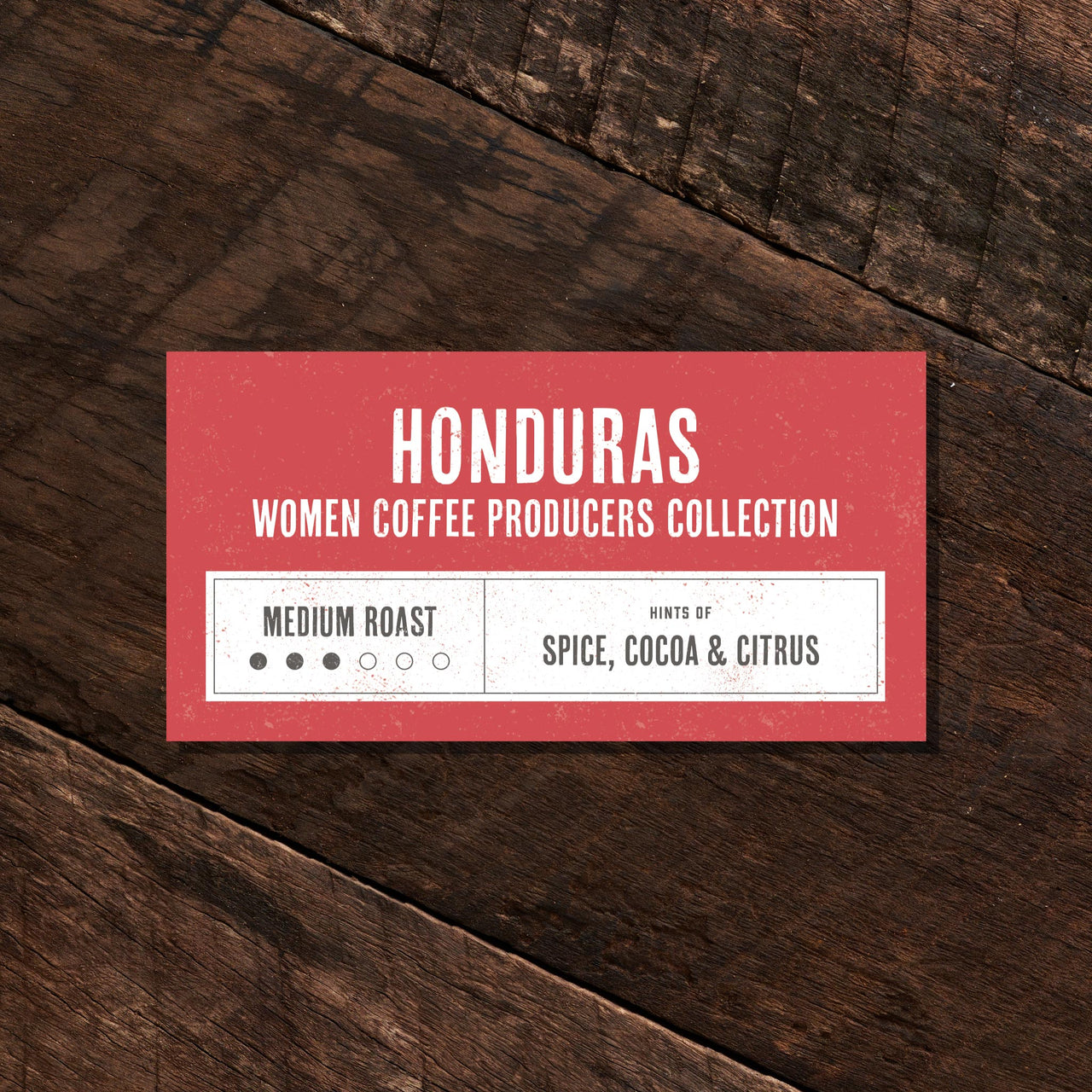Honduras Women Coffee Producers  – Medium Roast