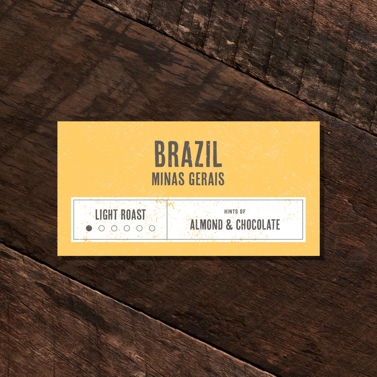 Brazil Minas Gerais – Light Roast