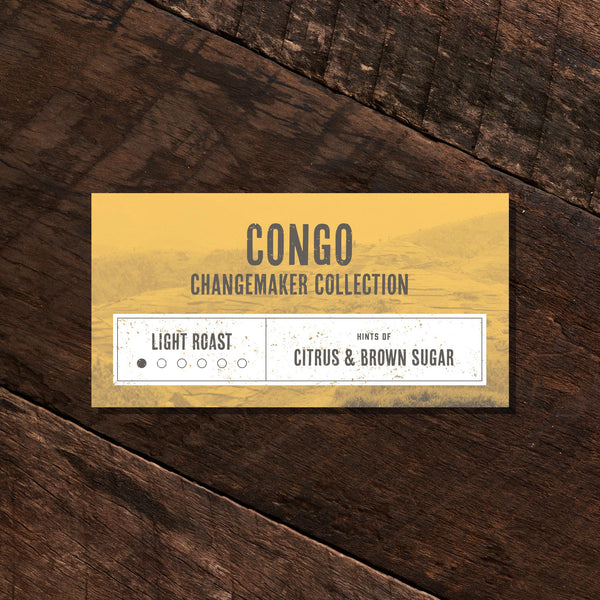 Congo Changemaker Collection - Light Roast