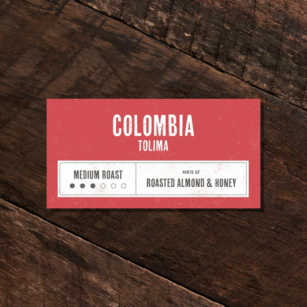 Colombia Tolima – Medium Roast