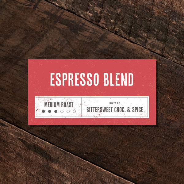 Espresso Blend - Medium Roast