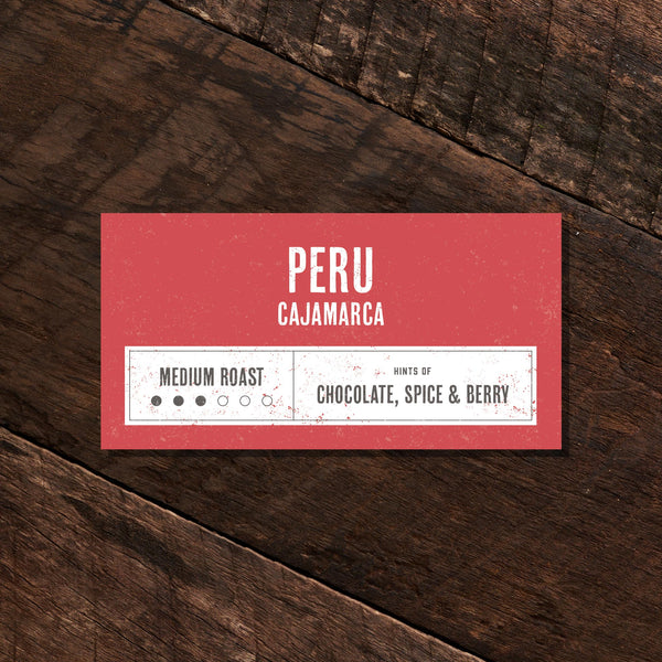 Peru Cajamarca - Medium Roast