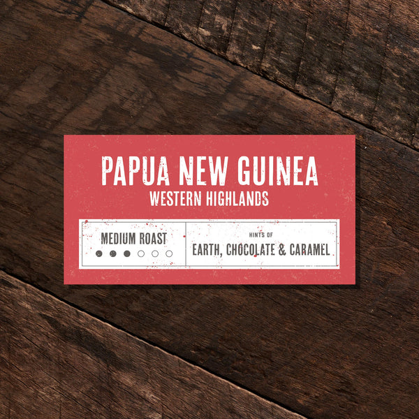 Papua New Guinea Western Highlands - Medium Roast