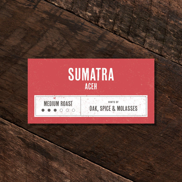 Sumatra Aceh Fair Trade Certified