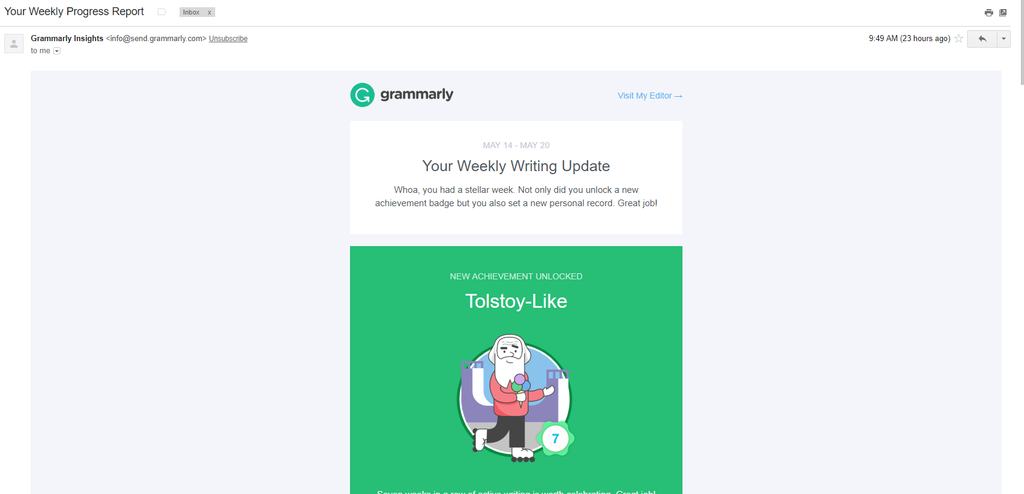 Grammarly - Construction Project Manager Tool