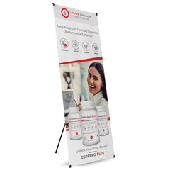 Cerebro Plus Tripod Banner