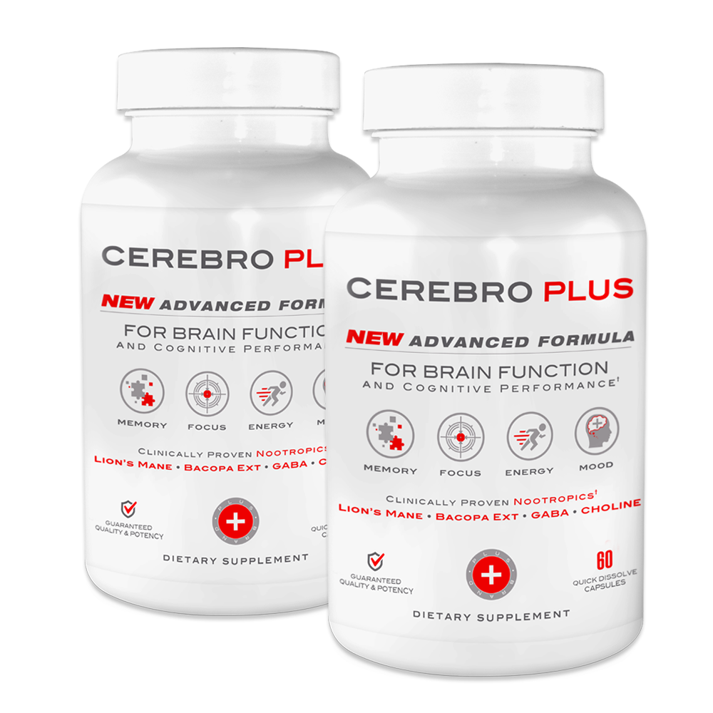 Cerebro Plus (1200ct) Brain Health and Cognitive Enhancer