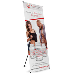 Fat Burner Plus Tripod Banner