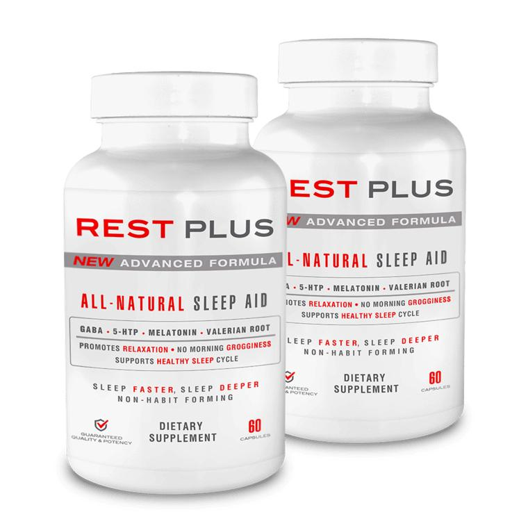 Plus Brands Rest Plus 180ct