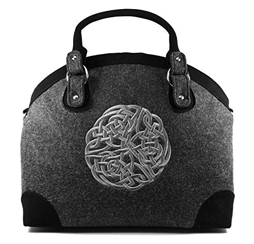 Celtic Weave Luxury Handbag, Imported from Ireland