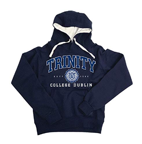 Trinity College Men's Collegiate Seal Hoodie - Navy Blue