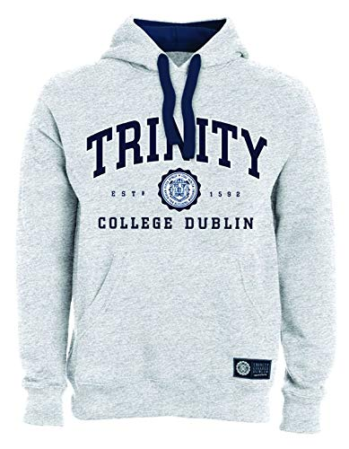 Trinity College Grey Hoodie Collegiate Seal - Grey