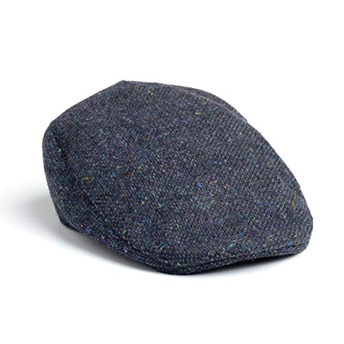 Hanna Hats Men's Donegal Tweed Donegal Touring Cap
