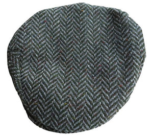 Hanna Hats Men's Donegal Tweed Vintage Cap