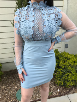 Mariah Blue Dress