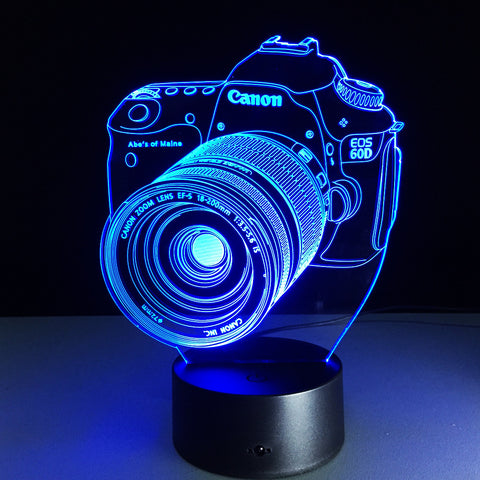 Cannon Camera Hologram