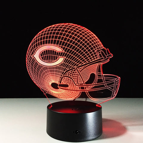 Chicago Bears Helmet Hologram
