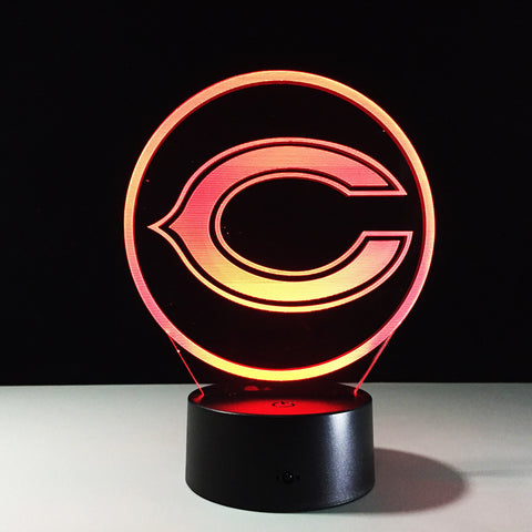 Chicago Bears Logo Hologram