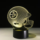 Pittsburgh Steelers Helmet Hologram